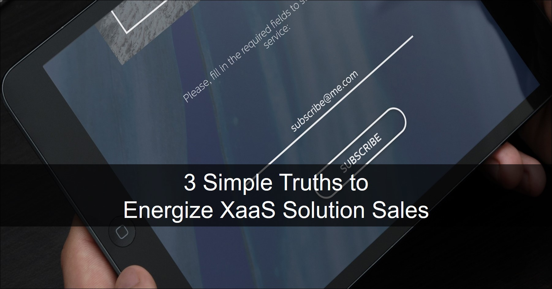 XaaS offerings value selling approach