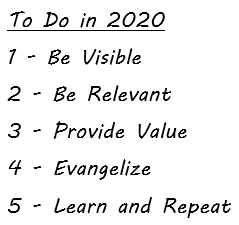 To Do in 2020