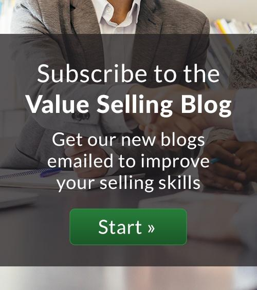 subscribe to the ROI selling blog